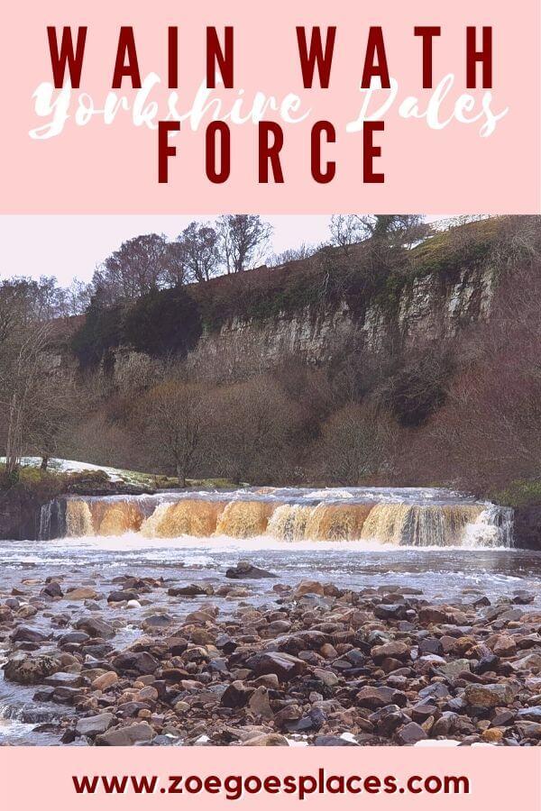 Yorkshire Dales: Wain Wath Force