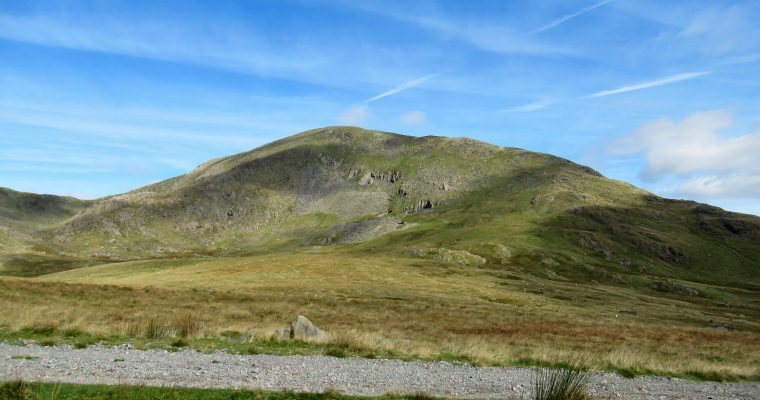 The Old Man of Coniston from it's southern side